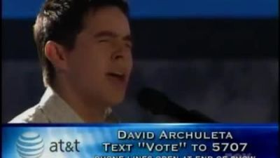 David Archuleta - Angels - American Idol Top 8