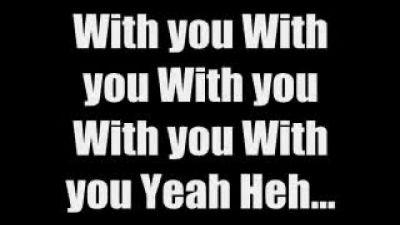 Скачать With You - Chris Brown Lyrics клип бесплатно