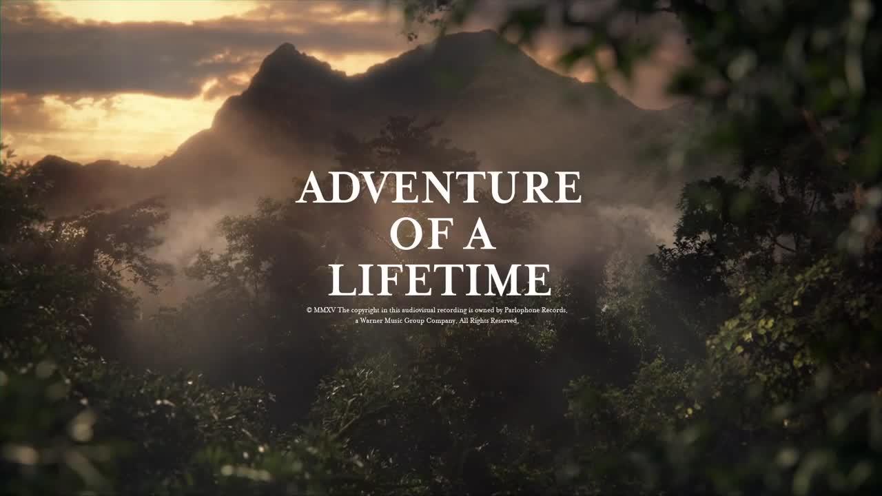 скачать coldplay adventure of a lifetime клип бесплатно