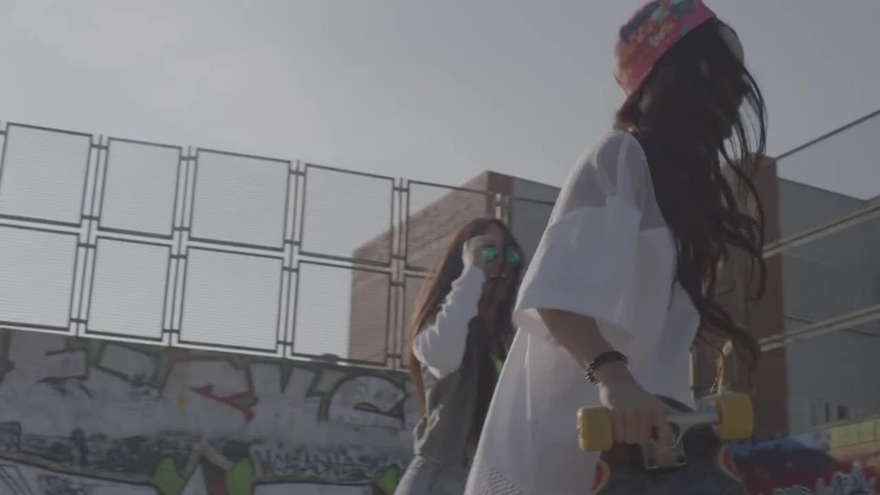 Inna | 'bad boys' video on streets of barcelona.