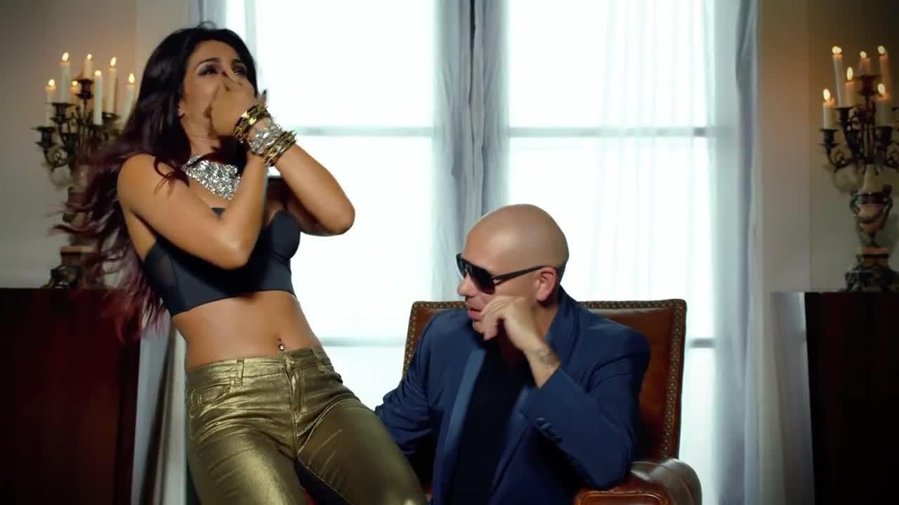 Priyanka chopra & pitbull exotic (moto blanco remix video edit.