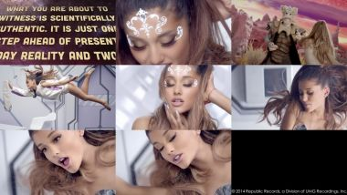 Скачать клип ARIANA GRANDE - Break Free feat. Zedd