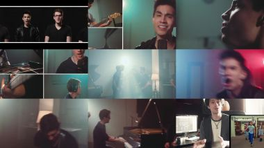 Скачать клип BOHEMIAN RHAPSODY - Queen - Alex Goot, Sam Tsui, Khs, Tyler Ward, Madilyn Bailey, Live Like Us Cover