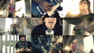 Скачать клип ESCAPE THE FATE - Something