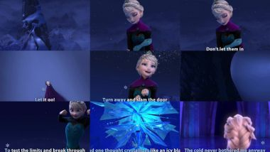 Скачать клип FROZEN - Let It Go Sing-Along | Official Disney HD