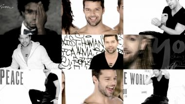 Скачать клип RICKY MARTIN - The Best Thing About Me Is You