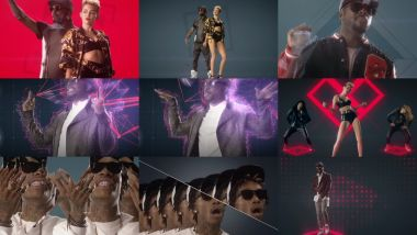 Скачать клип WILL.I.AM - Feelin' Myself feat. Miley Cyrus, Wiz Khalifa, French Montana